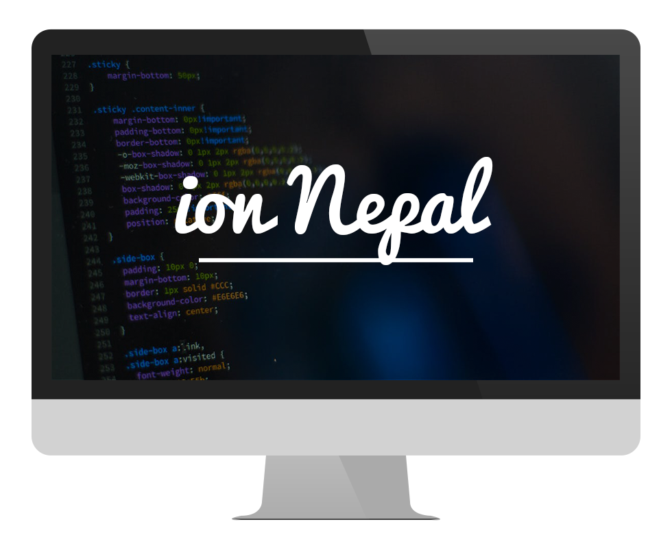 Ion Nepal in Mac